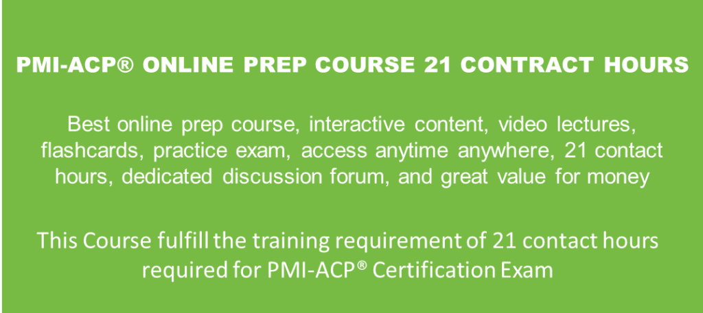PMIACP-Online-Course
