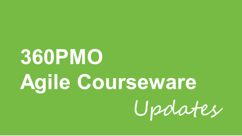 Agile courseware update